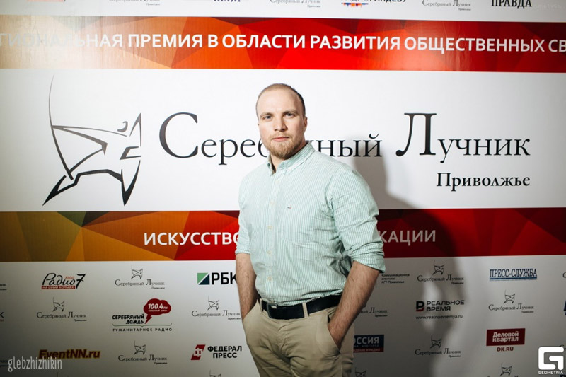 CEO&Founder DonorSearch.org Руслан Шекуров