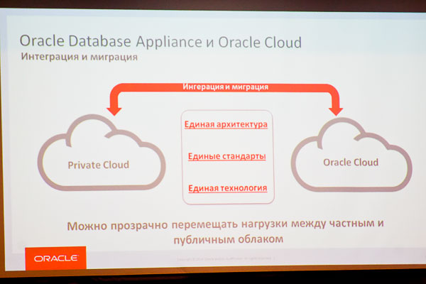 Интеграция Oracle Database Appliance и Oracle Cloud