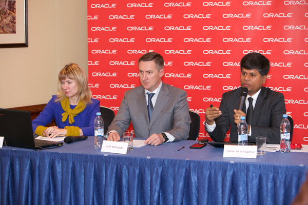 Пресс-конференция в рамках Oracle Modern Business Forum